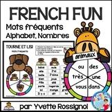 French Animals Centre Activities  - Mots, nombres et alphabet, Les animaux