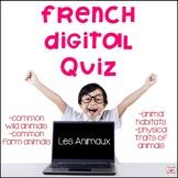 French Animals – Digital Quiz – Les Animaux