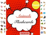 French Animals Flashcards