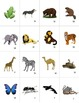 French Animals- Les Animaux Mini Student Vocabulary Cards