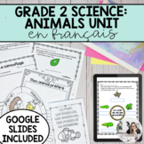 Growth and Changes in Animals Unit / Les animaux PRINTABLE