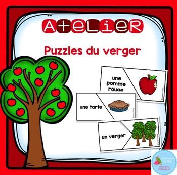 French Apple orchard Puzzles/ Casse-tête {Mots du Verger}
