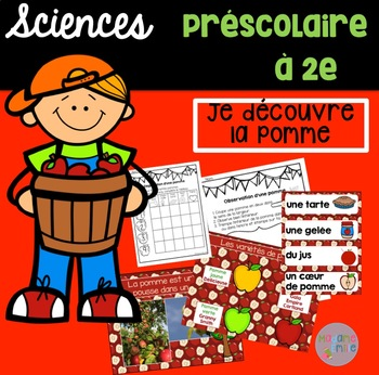 French Apple science unit/ La pomme {sciences}
