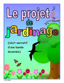 French April Writing Activity (The Gardening Project)