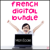 French Areas Inside and Outside of School Digital Bundle