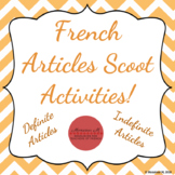 French Articles (Definite/Indefinite) Scoot Activities [3