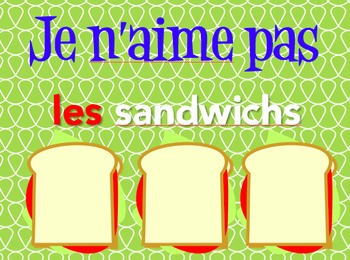 French Articles (Partitive, Definite, Indefinite) Notes & Ppt Bundle