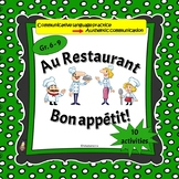French: Au Restaurant: oral communication