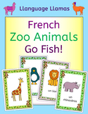 French Zoo Animals - Au Zoo - Go Fish! Game - les animaux