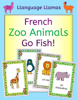 how to say go fish in french