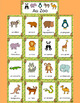 French Zoo Animals - Au Zoo - Word wall - les animaux
