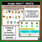 French Automne/Fall-Google Slides™ matching + vocabulary a