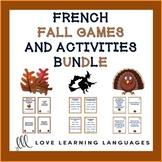 French Autumn Resource Bundle - L'automne français