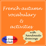 French Autumn Vocabulary & Activities