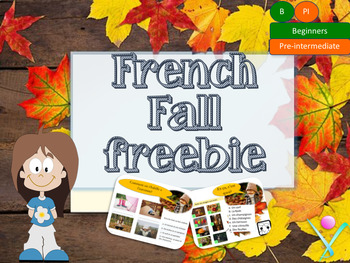 French Autumn interactive freebie