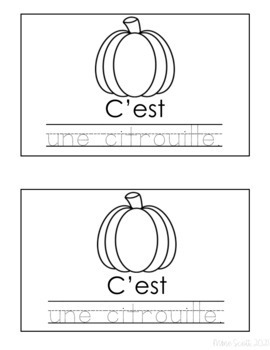 Automne - Primary French Activities (Word Work)