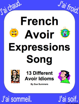 French Avoir Expressions Song With Actions