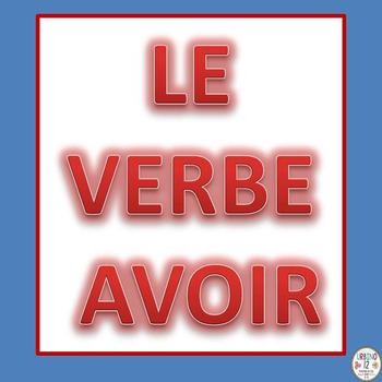 French Avoir Verb Game (SB)