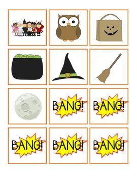 French BANG! game - Halloween