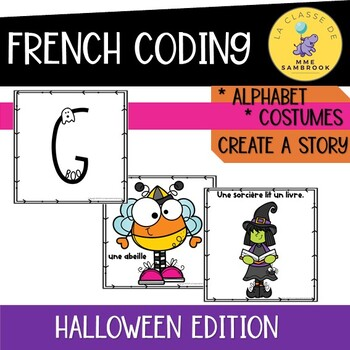 French BEEBOT halloween edition I le codage