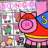 French BINGO Cards