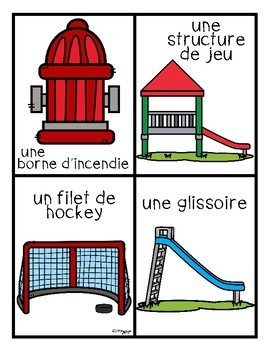 French BINGO - LES STRUCTURES