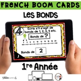 French BOOM Cards - French Distance Learning - LES BONDS -