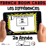 French BOOM Cards - French Distance Learning - LES DIFFÉRE