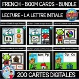 French BOOM cards - La lecture - La lettre initiale - BUNDLE