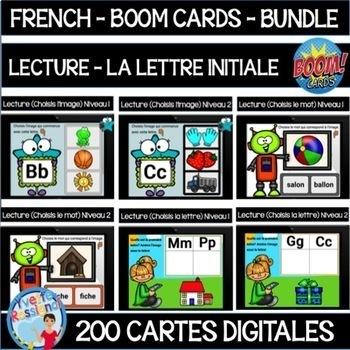 French Reading With Boom Cards La Lecture Et La Lettre