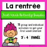 French Back to School Bundle (La rentrée)