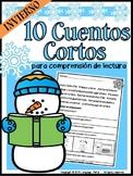 Spanish Reading Comprehension- WINTER EDITION- Comprensión de Lectura en Español