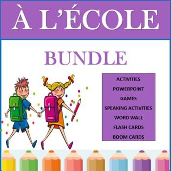 French Back to School Bundle: La Rentrée Scolaire Unit Plan (2nd to 6th)