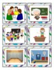 French Back to School Games and Flash Cards: La Rentrée Scolaire