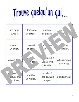 French Back to School Oral Activity - Activité orale pour la rentrée