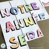 French Back to school Collaborative Poster   La rentrée scolaire