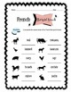 French Barnyard Animals Worksheet Packet