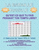 Differentiated French Battleship game - Adverbs of Frequen
