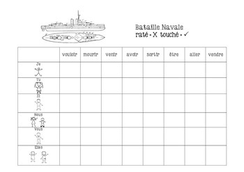 French - Battleship Game