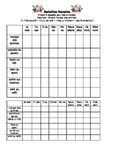 French Teaching Resources. Battleships Game/ Lotto Grid: The Near Future Tense.