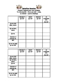 French Teaching Resources. Battleships/ Lotto Grid: Greetings