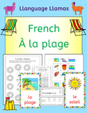 French Summer Beach Vacation Resources - A la plage - acti