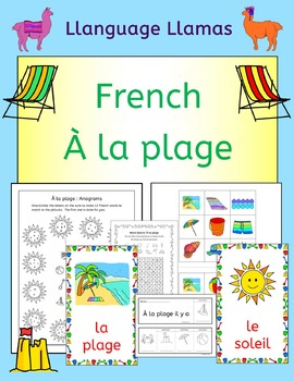 French Summer Beach Vacation Resources - A la plage