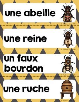 French Bee science unit/ Les abeilles {sciences}