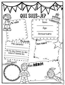 French Beginning of the Year Booklet - Activités pour la rentrée scolaire