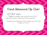 French Behavioural Clip Chart, version 2