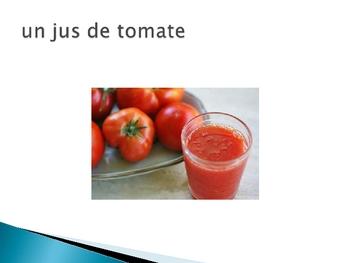 French Beverage Vocabulary