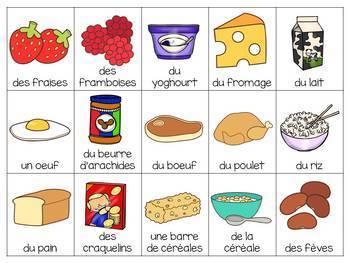 French Bingo BUNDLE: thèmes variés