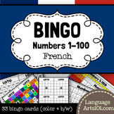French Bingo Numbers 1-100 (Loto des Nombres 1-100)