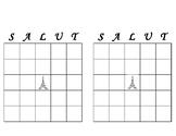 French Bingo sheets